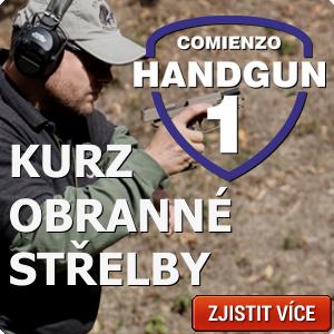 Kurz obranné střelby Handgun 1