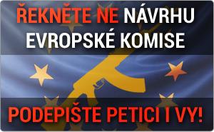 Petice proti navrhu evropske komise